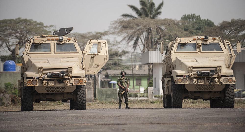 Un soldat nigérian
