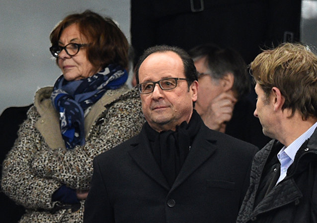 François Hollande au Stade de France