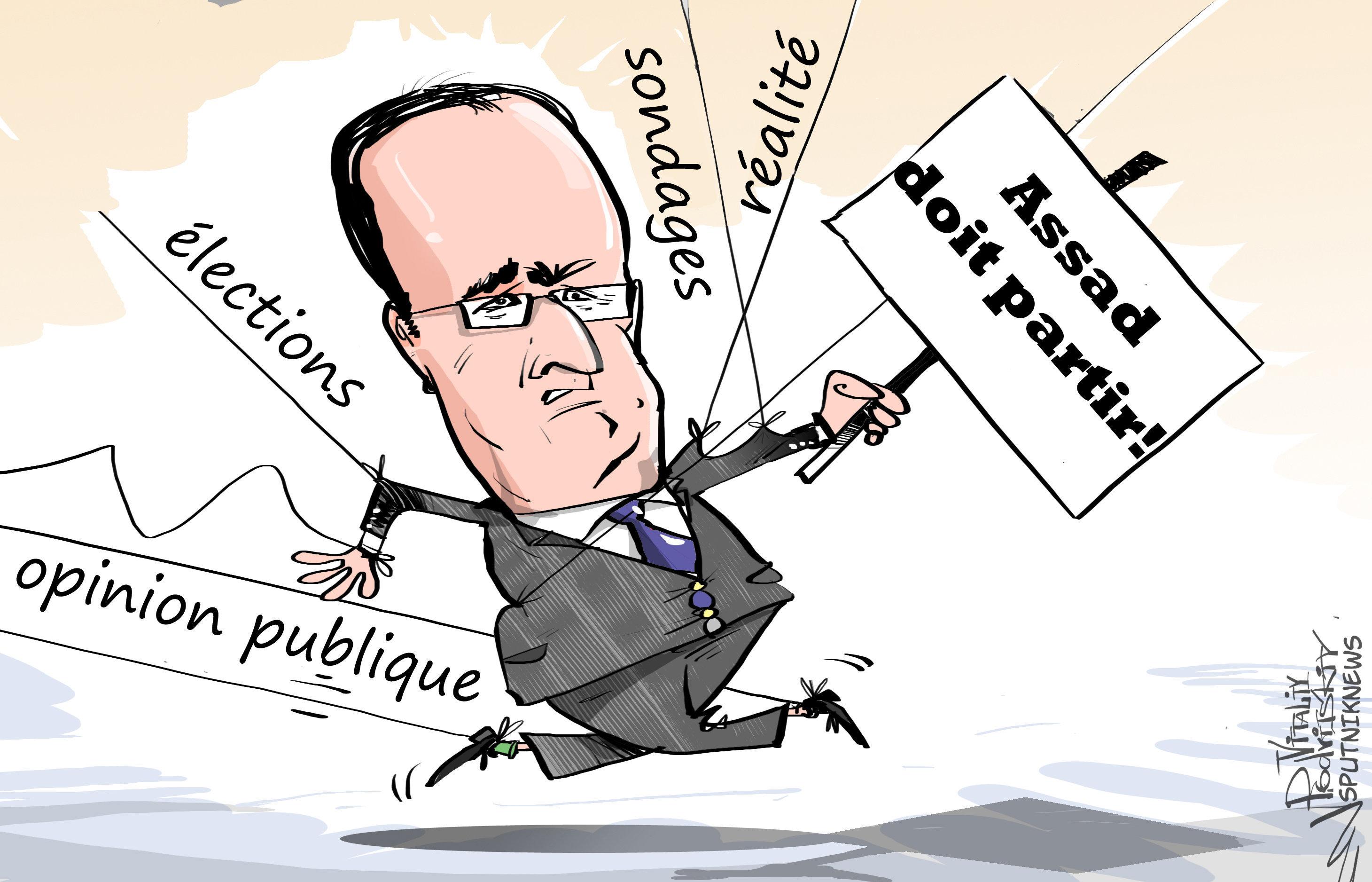 Vote Du Jour: les Français prônent la reprise du dialogue avec Assad