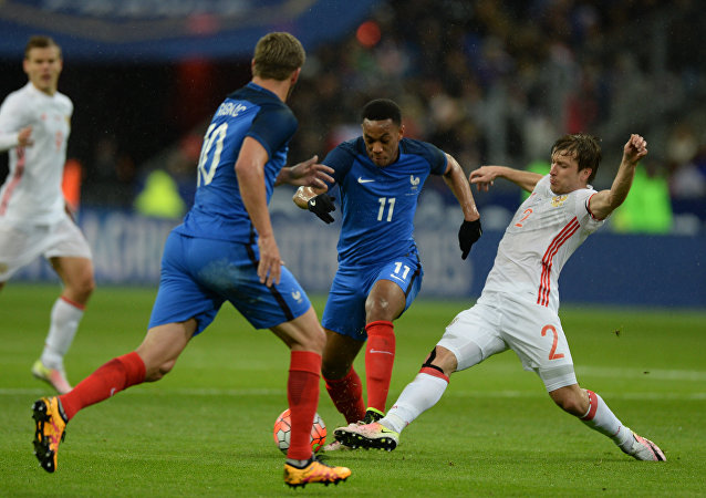 Les temps forts du match amical France-Russie