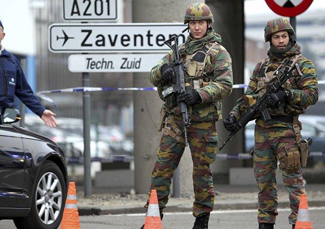 Des militaires belges