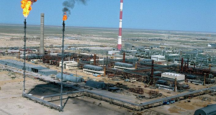 Installation pétrolière