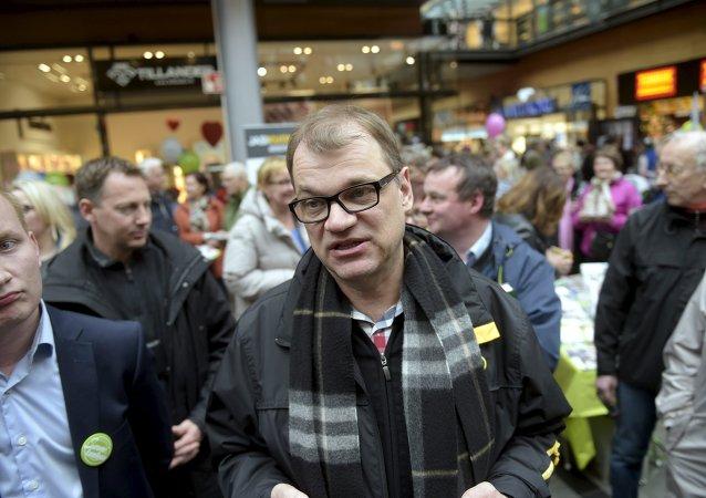 Juha Sipila,premier ministre finlandais