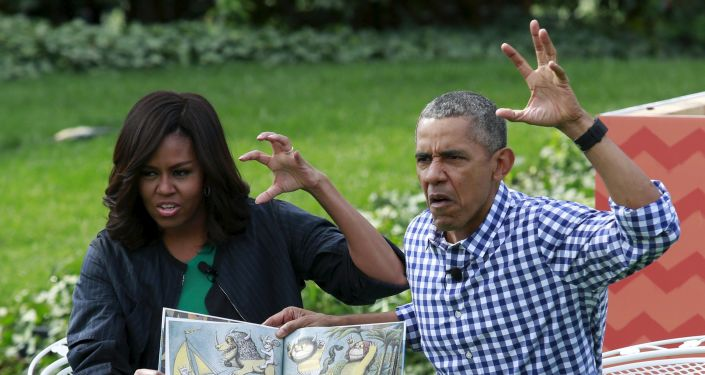 Michelle et Barack Omaba