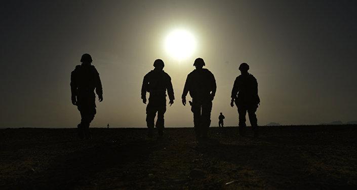 Des soldats US