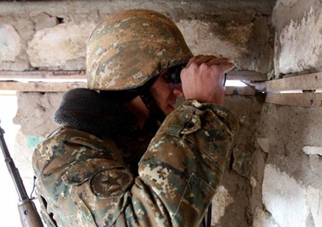 Un militaire arménien