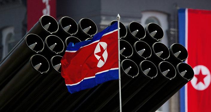 Le flag nord-coréen