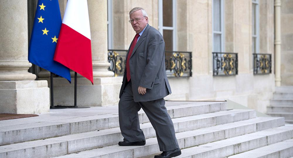 Le député Les Républicains Jacques Myard