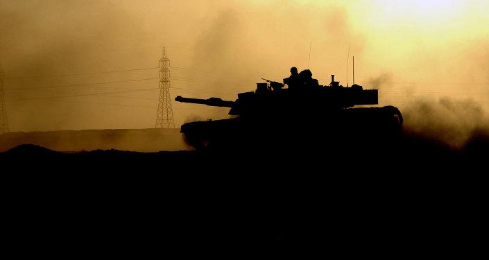 Des chars américains en route pour les pays baltes
