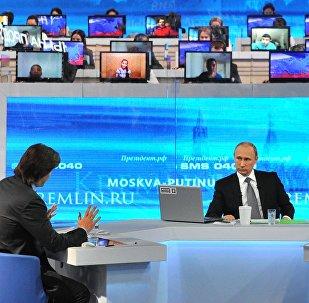 la ligne directe de Vladimir Poutine