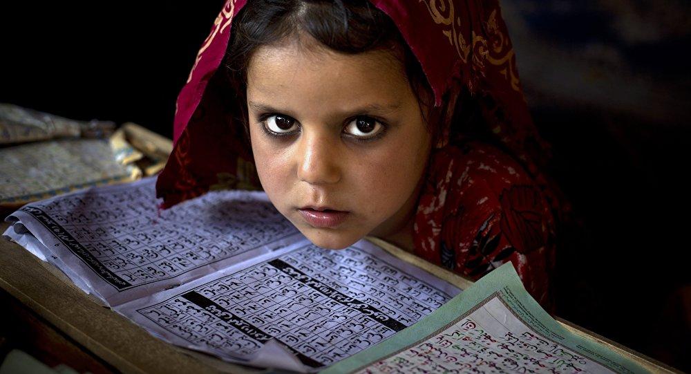 Une fille pakistanaise. Image d'illustration