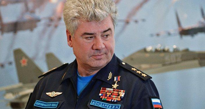 Viktor Bondarev, le commandant en chef des forces aériennes russes