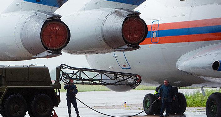 Des avions russes déposent 4 t d'aide humanitaire dans la province de Damas