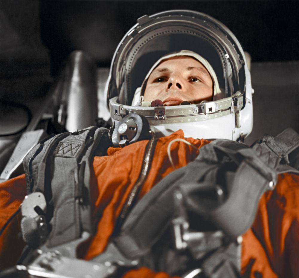 Le retour sur Terre du héros de l'espace