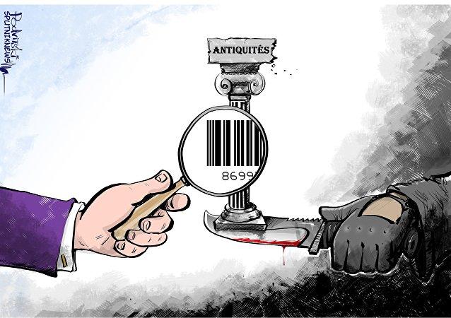 Gaziantep, plaque tournante du trafic d'antiquités syriennes
