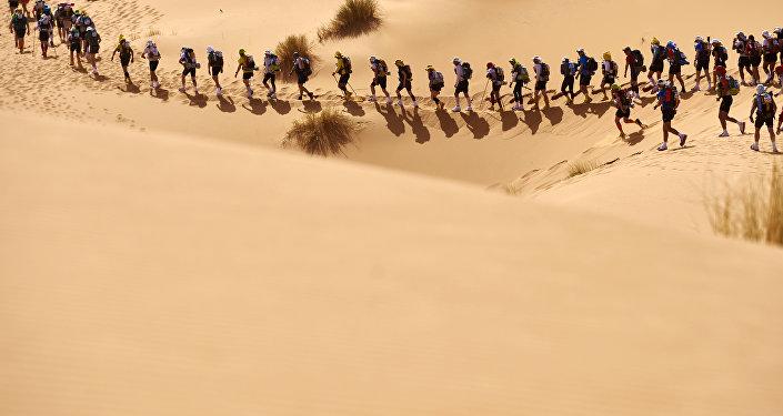 Le Marathon des Sables au Maroc