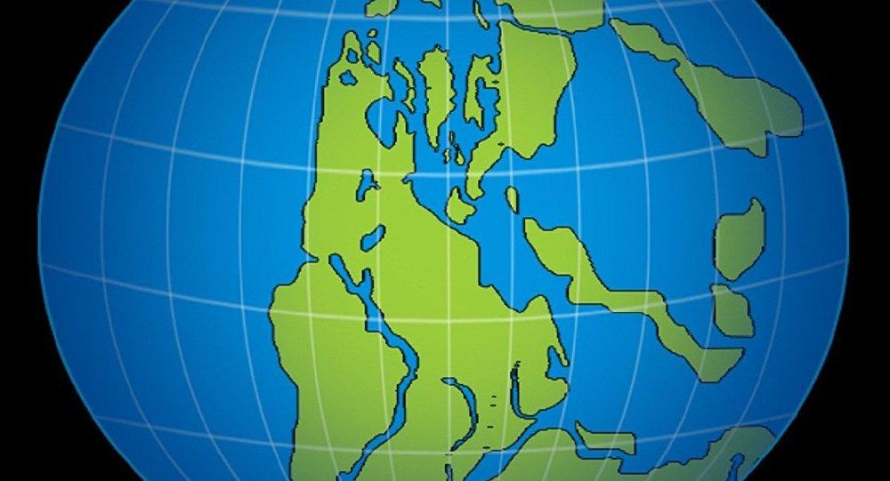 Un ancien supercontinent