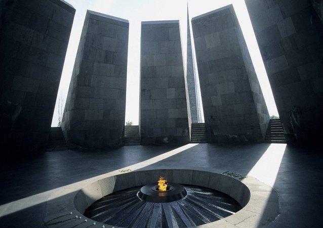 Mémorial du génocide arménien à Erevan