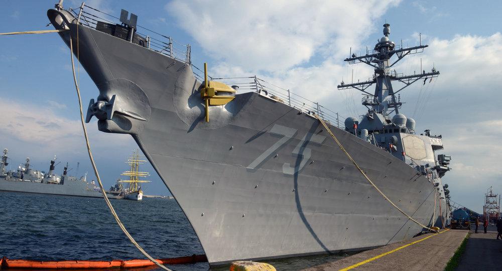 Le destroyer USS Donald Cook