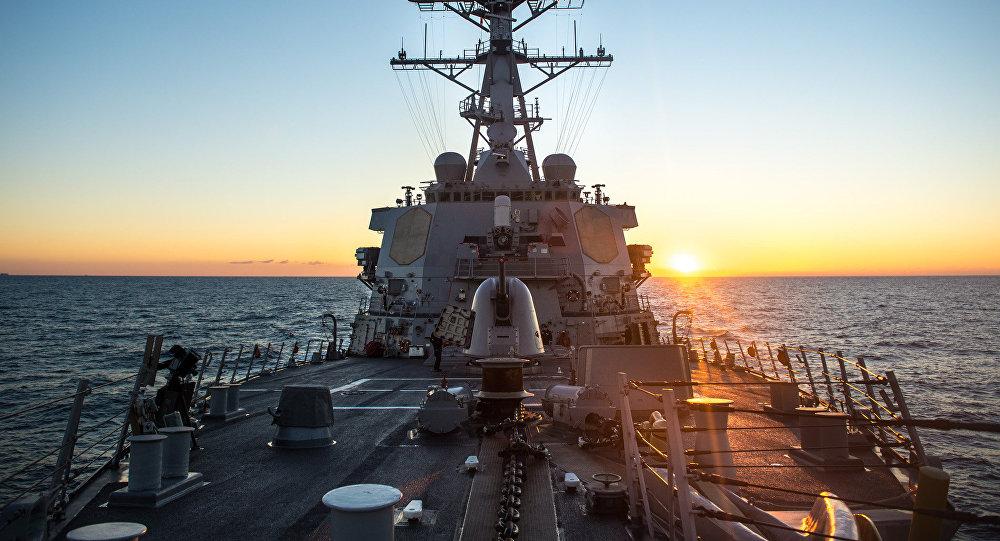 le destroyer US Donald Cook
