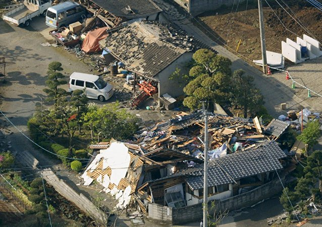 Un séisme au Japon