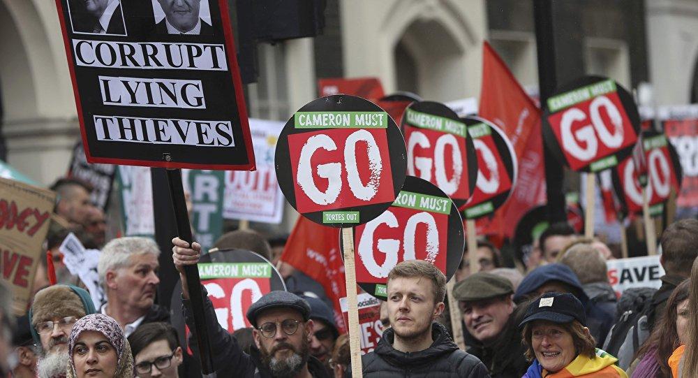 Manifestation à Londres