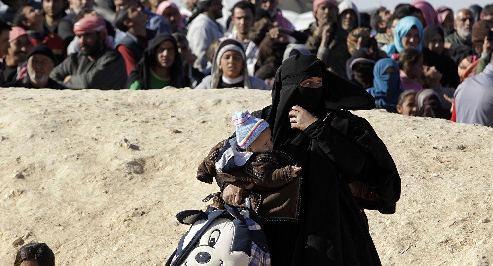 Près de 50.000 Syriens bloqués à la frontière avec la Jordanie