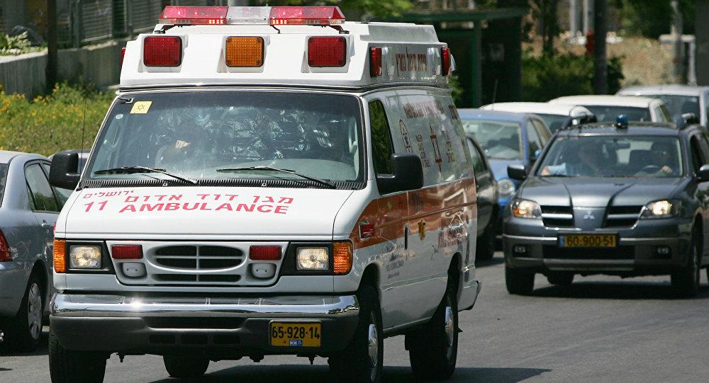 Une ambulance israélienne