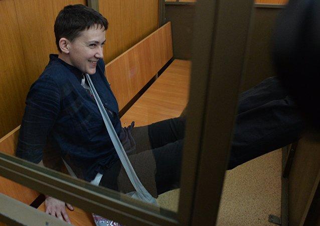 Moscou n'exclut pas d'échanger la pilote ukrainienne Savtchenko avec Kiev