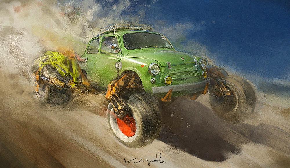 Un nouveau regard sur les automobiles soviétiques