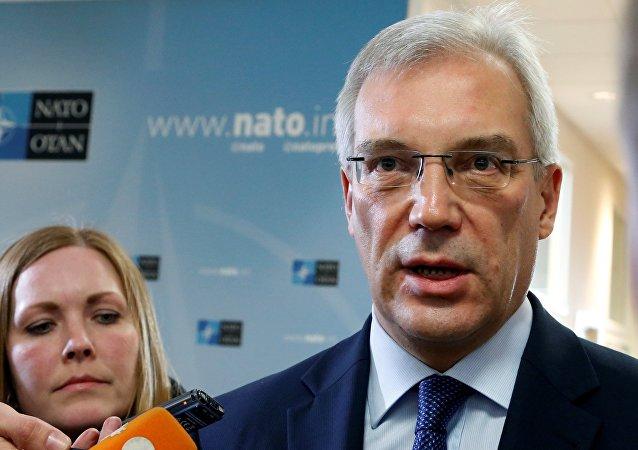 Délégué permanent russe auprès de l'OTAN Alexandre Grouchko