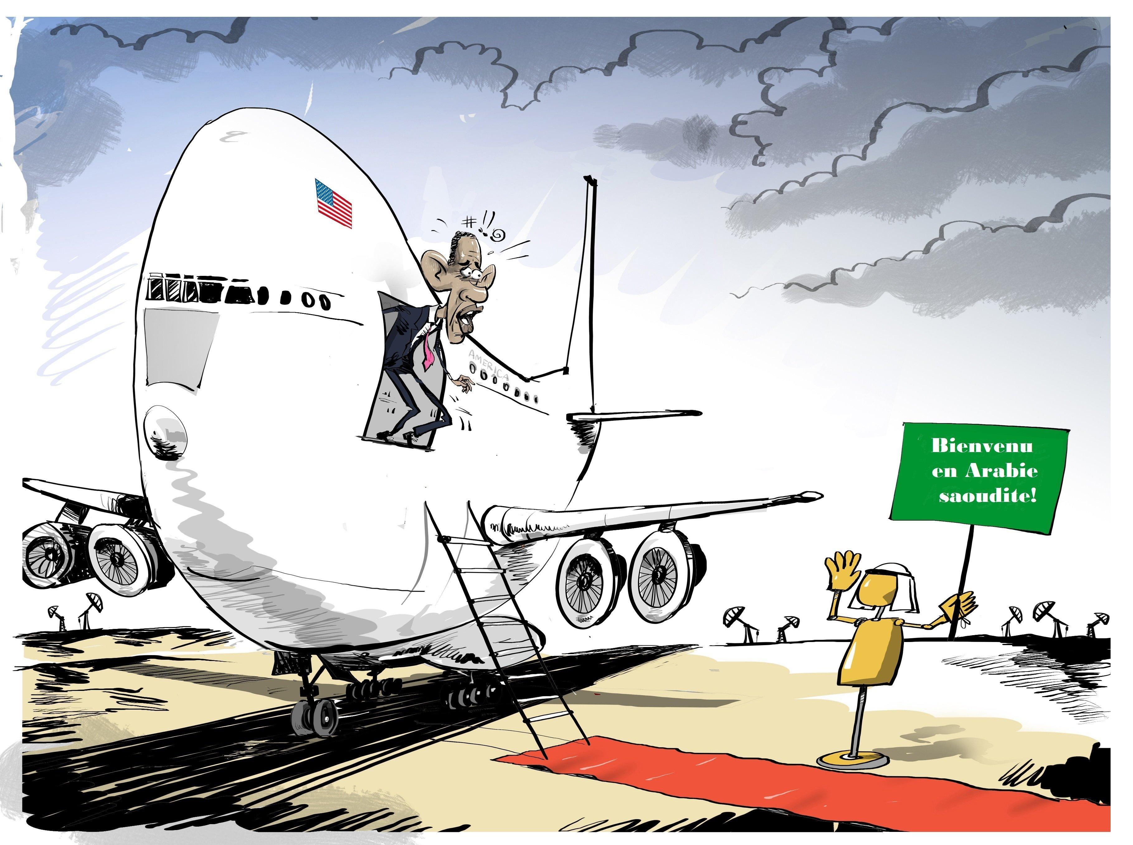 Riyad réserve un accueil glacial à Obama