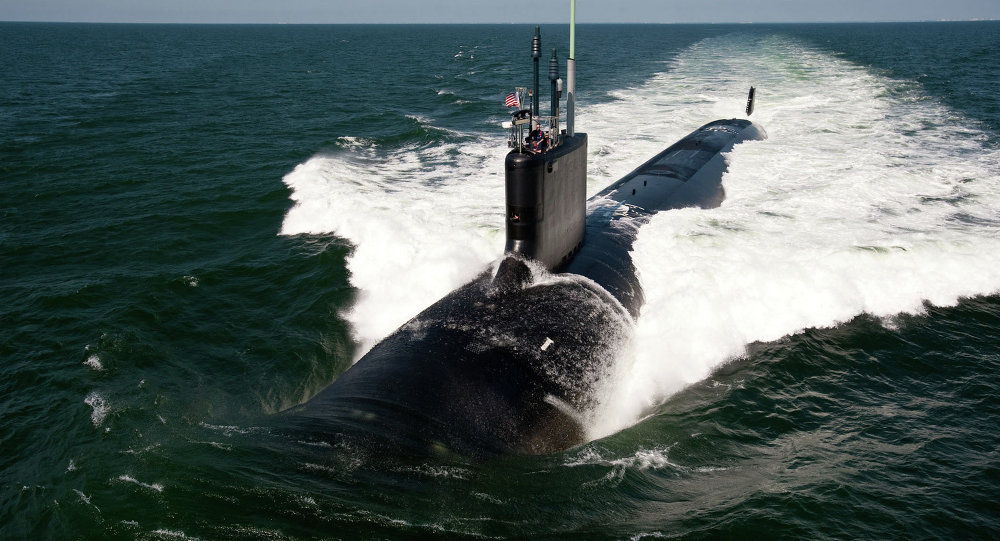 L'USS California, sous-marin nucléaire de classe Virginia