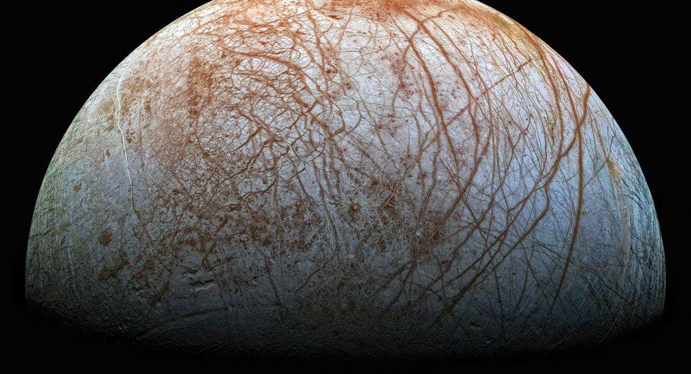 Europe, l'un des satellites de Jupiter