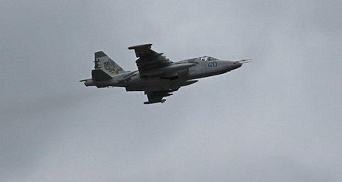 Chasseur ukrainien Su-25
