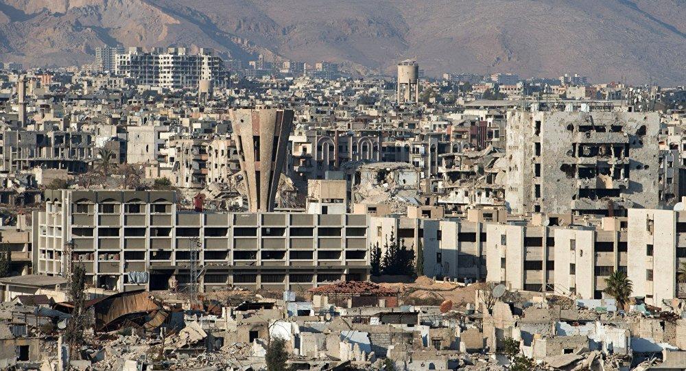 Le centre historique de Damas frappé par les terroristes