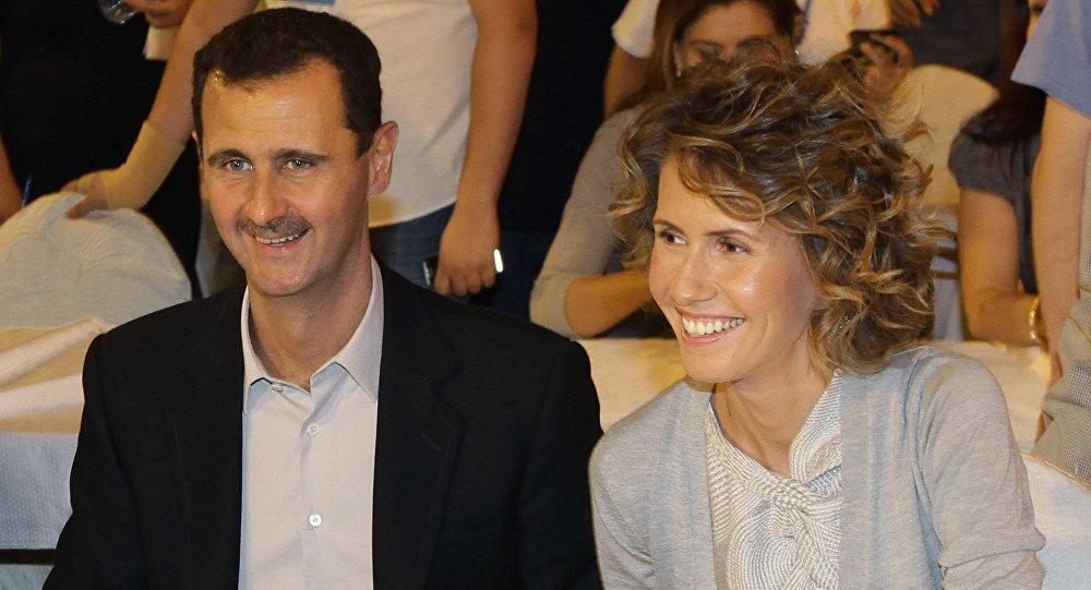 Couple présidentiel syrien