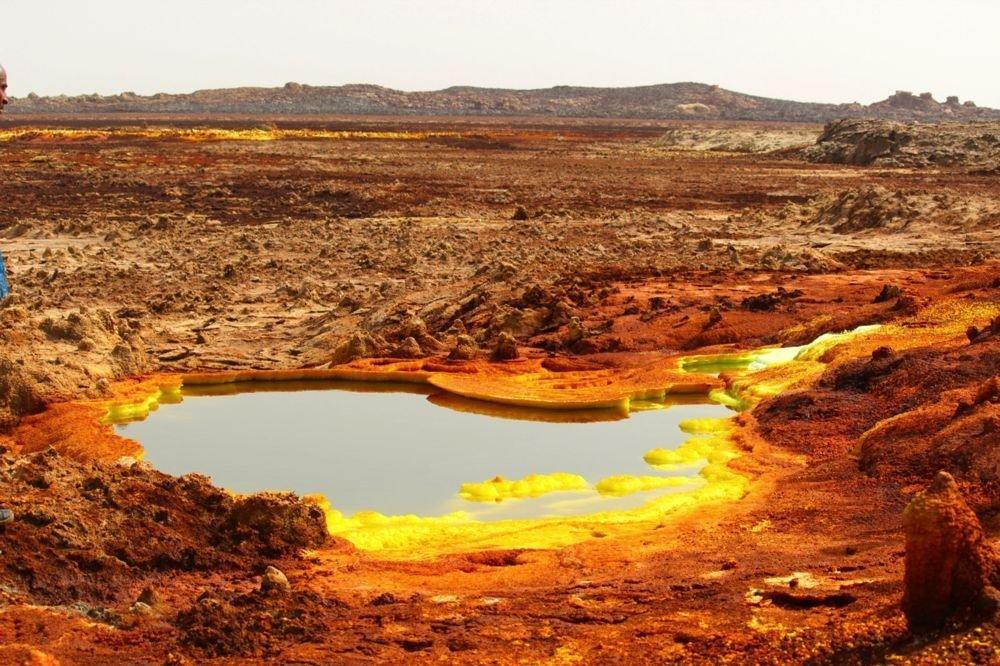 La dépression de Danakil (Ethiopie)