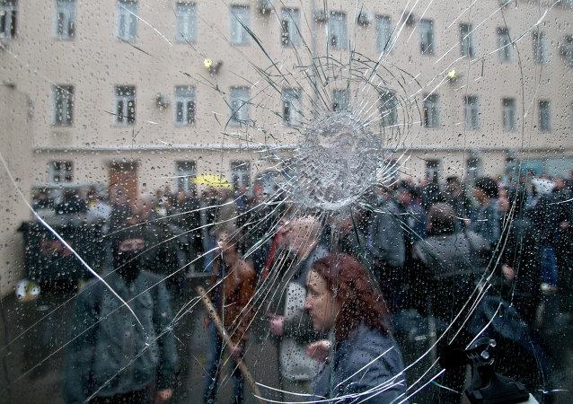 Situation à Odessa, le 4 mai 2014
