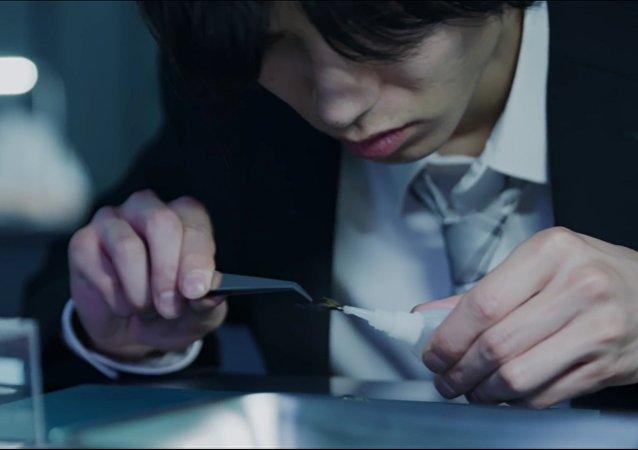 L'examen des chirurgiens japonais