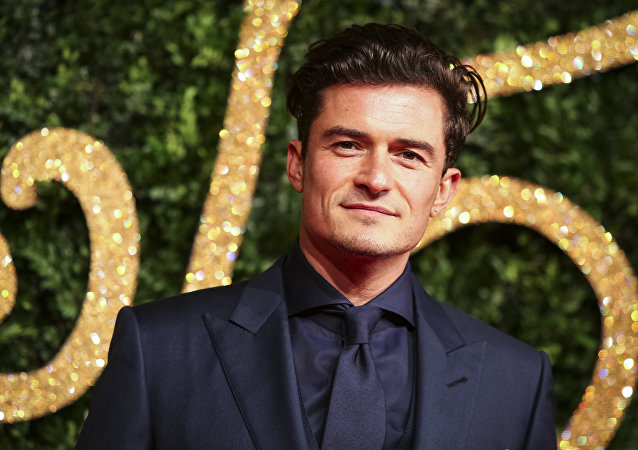 L'acteur britannique Orlando Bloom