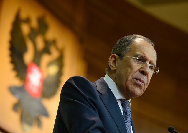 Le chef de la diplomatie russe Sergueï Lavrov