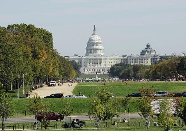 Le  Capitole des Etats-Unis, siège du Congrès