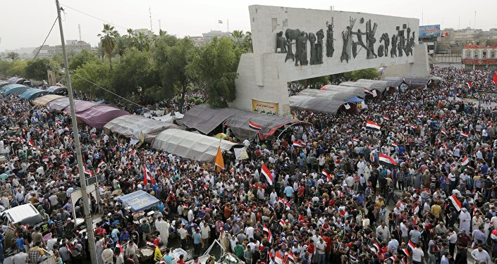 Irak: violente manifestation contre le parlement, plusieurs députés blessés