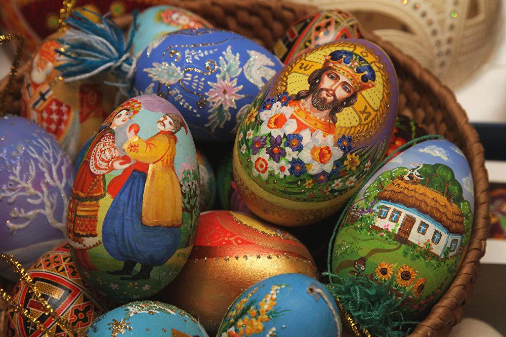 Пасхальная ярмарка в Киеве