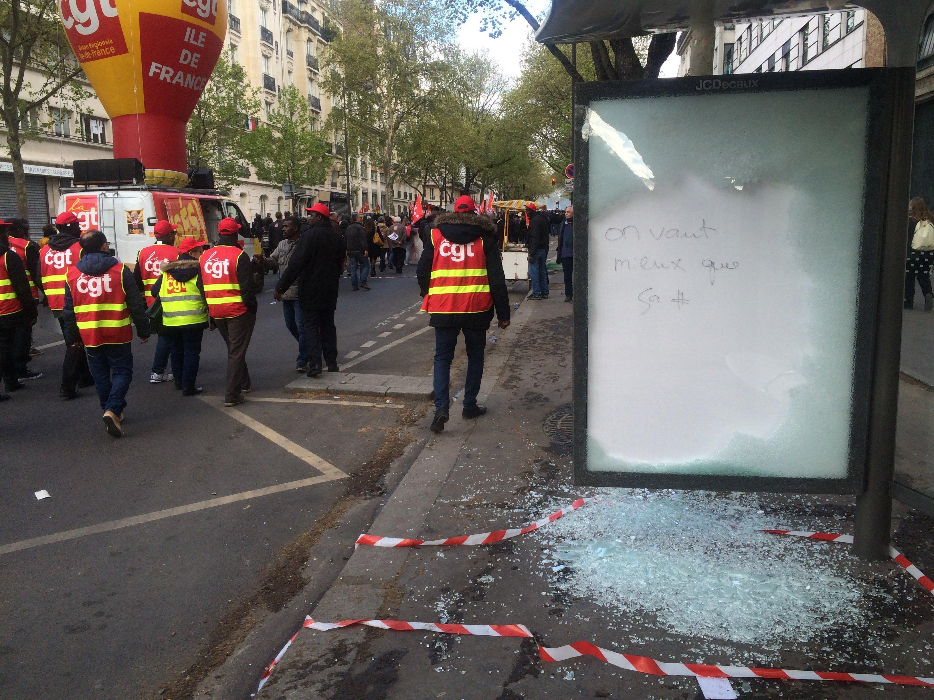 Destructions boulevard Diderot