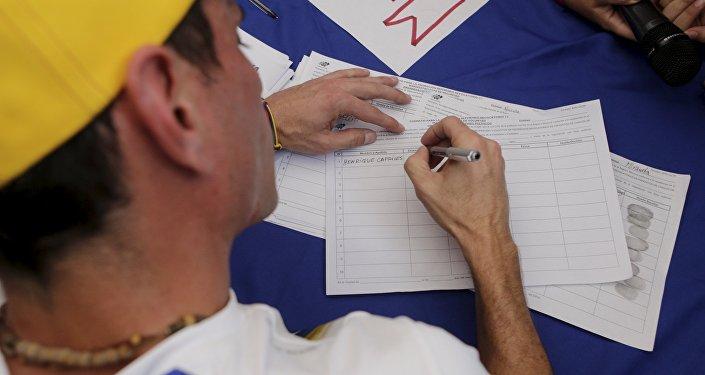 Le processus de référendum révocatoire contre Nicolas Maduro est lancé