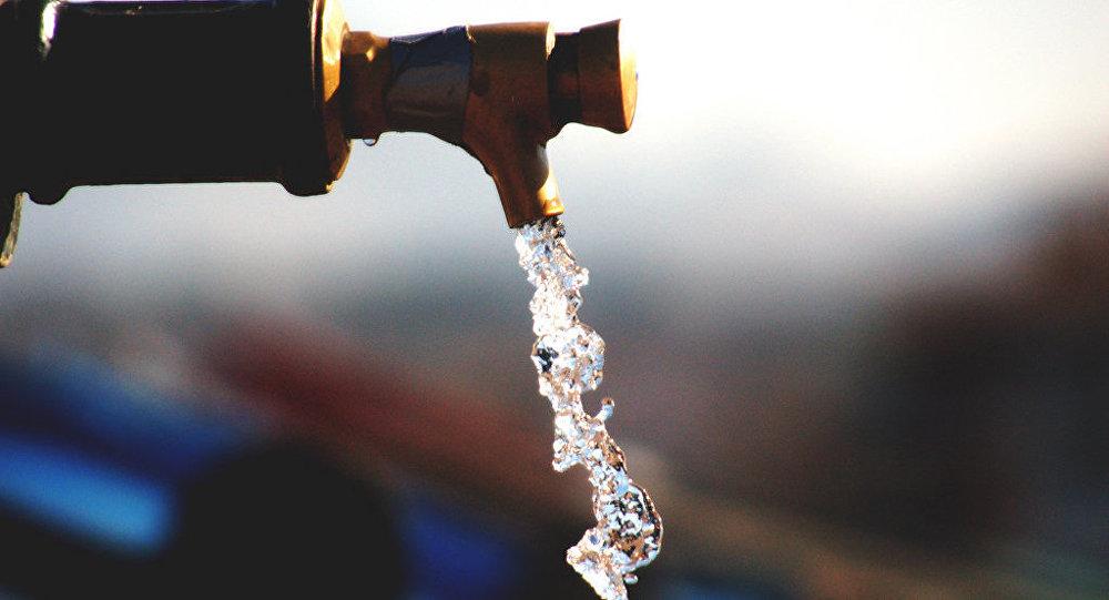 Un robinet. Image d'illustration