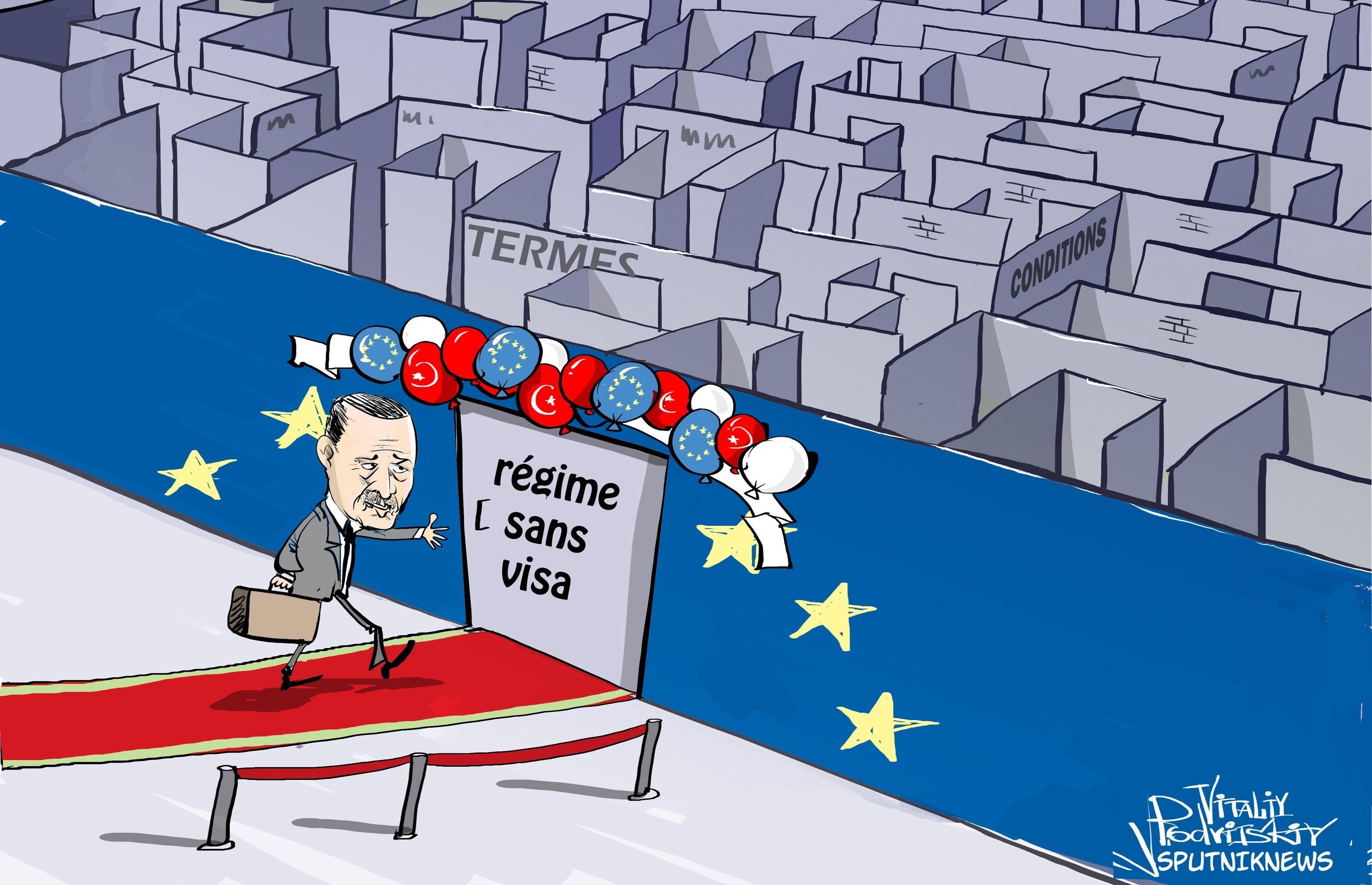 La Commission européenne recommande d'exempter les Turcs de visas