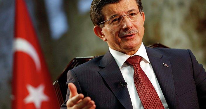 L'ancien premier ministre turc Ahmet Davoutoglu